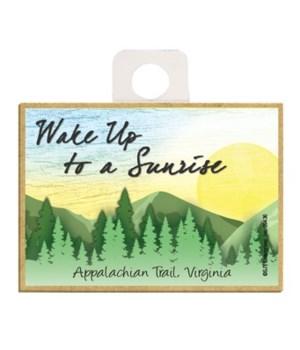 Wake up to a sunrise - Sunrise over gree