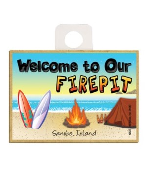 Welcome to our Fire pit - Beach scene w/