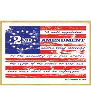 2nd Amendment flag  magnet