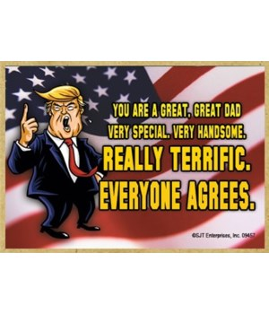 Trump Teriffic Everyone agrees magnet