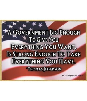 Government Big/Strong-Jefferson Magnet