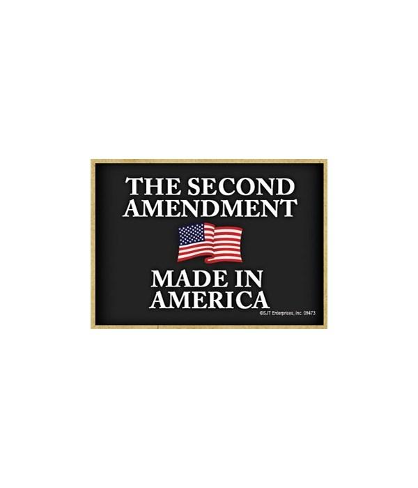 2nd Amendment - Made in America Magnet