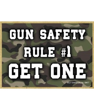 Gun Safety - Rule 1 - Get One Magnet