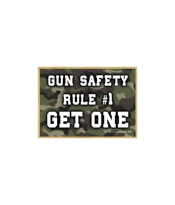 Gun Safety - Rule 1 - Get One Magnet