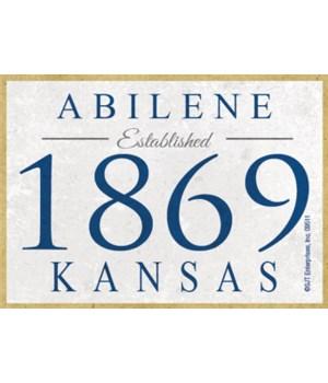 (Established) Abilene - 1869 - Kansas