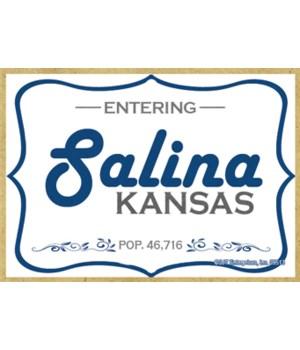 (Entering) Salina, Kansas - POP. 46,716