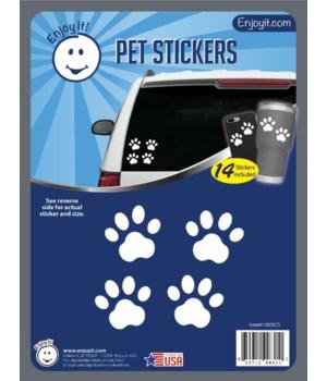 Pet Paw Car Stickers