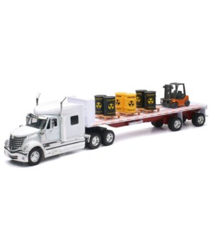 Intl Flatbed w/ Radioactive Waste 1:32