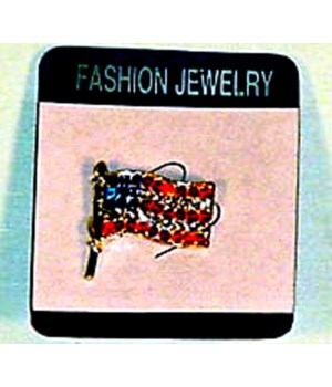 *USA Stone Flag Lapel Pin