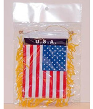 *USA Suction cup 3' x 5' flag