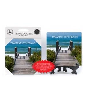 Panama City Beach - wooden walkway & ste