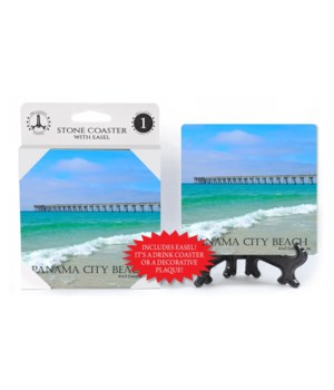 Panama City Beach - long pier with blue