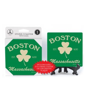 Boston (shamrock) Massachusetts - green