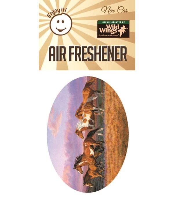 Running Horses Scene Air Freshener