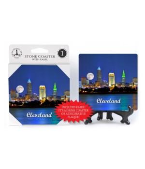 """Cleveland coaster - """"Cleveland"""" skyline"""