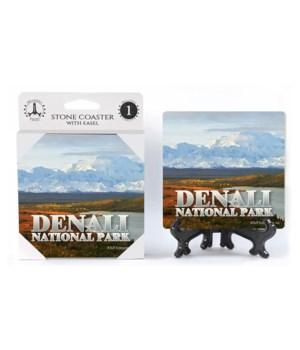 Denali National Park - river and yellow
