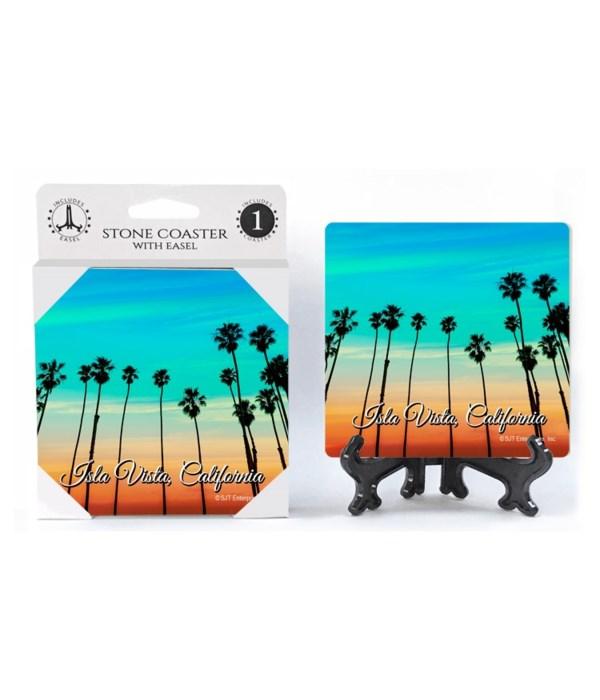 Isla Vista, California - Palm trees