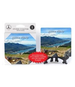 Juneau, Alaska - waterway and mountains