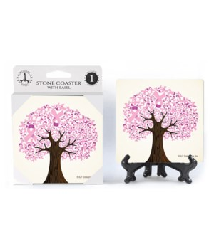 Breast Cancer Awareness - Tree of pink r