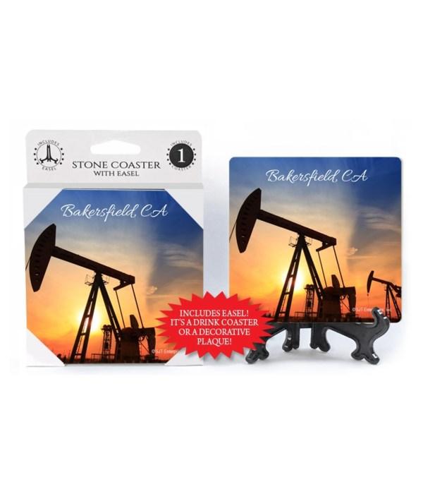 Bakersfield, CA - oil well drills