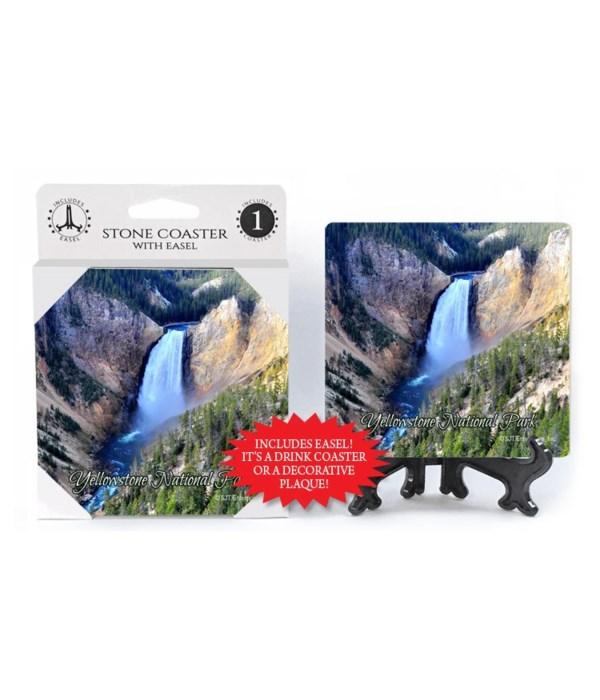 Yellowstone National Park (waterfall at