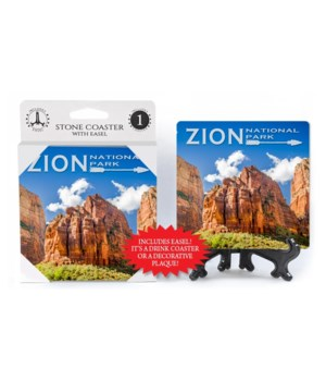 Zion National Park - Three Patriarchs -