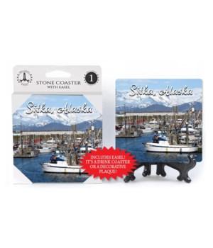 Sitka, Alaska - Harbor in Alaska with fi
