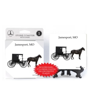 Jamesport, MO - Amish Horse and Carriage