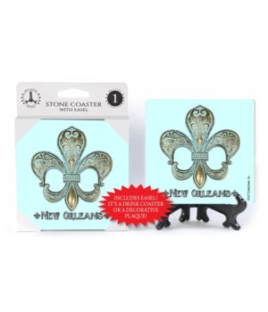New Orleans Theme - fleur de lis - Light