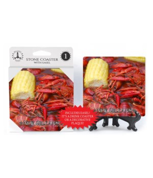 New Orleans Theme - Crawfish boil - corn
