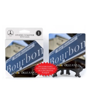 New Orleans Theme - Bourbon St. Sign