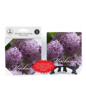 Mackinac Lilacs - Purple Flowers with sc