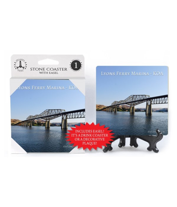 Lyons Bridge Coaster 1Pack with Easel