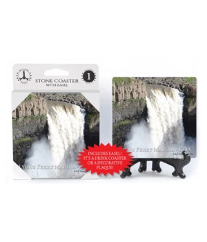 Lyons Falls Coaster 1Pack with Easel