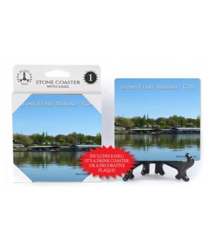 Lyons Marina Coaster 1Pack with Easel