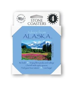 Advice from Alaska  coaster 4-pack