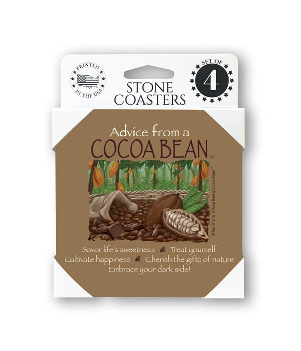 Advice from a Cocoa Bean Coaster