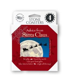 Advice from Santa Claus Coaster
