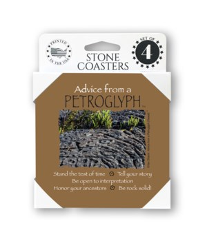 Advice from a Petroglyph (Hawaii) 4 Pack