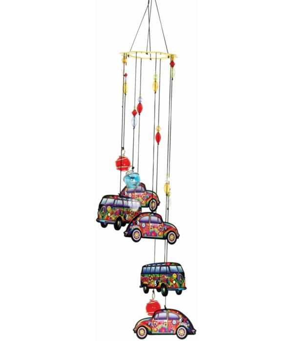 HIPPIE CAR/LOVE BUS WIND CHIME