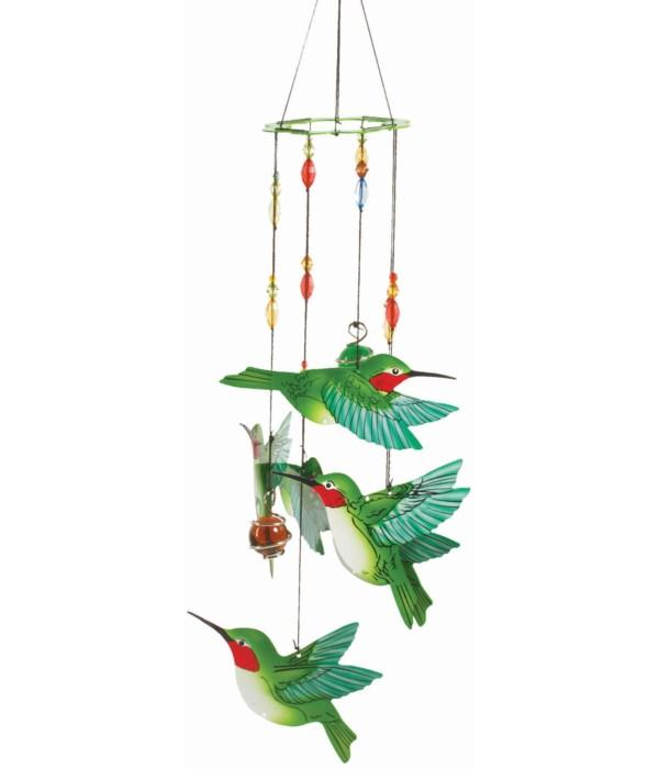 HUMMINGBIRD HANDPAINTED CHIME