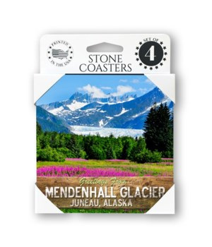 Mendenhall Glacier coaster 4pk