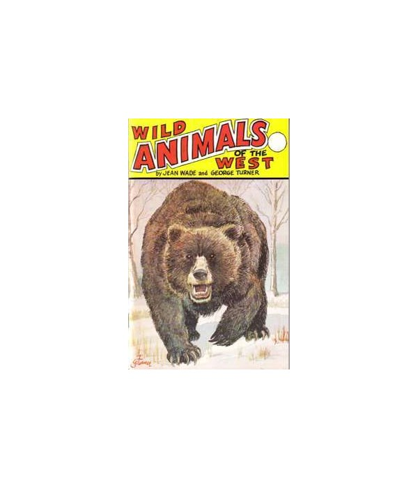 Animals of the West Info Book