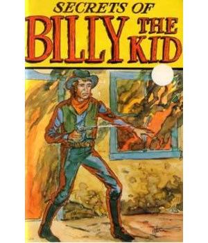 Billy The Kid Old West Book 12PC
