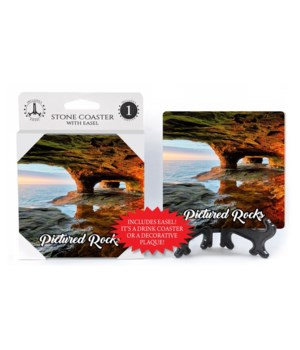 Pictured Rocks Coaster 4 pack