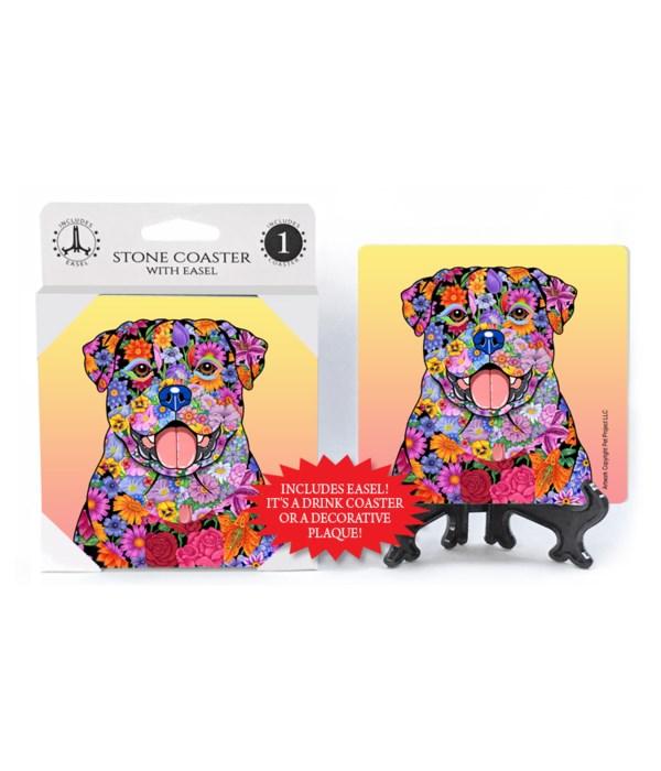 Rottweiler (flower design)