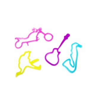 *Rock 'n Roll Glitter Bands(12ea) x12