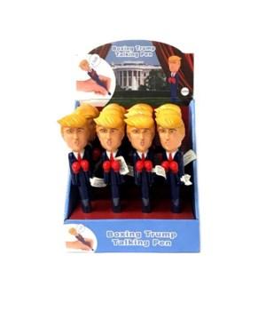 Boxing/talking Trump pen -12pc dsp