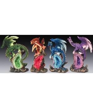 "Dragon/""geode""-4/A-12pc- 4"""