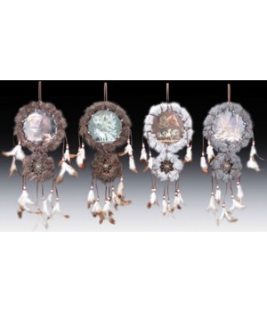 "Dreamcatcher 4/A Wildlife 6""H /12pc"